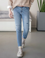 24215 - Way Day Cutting Jean <br> <font style=font-size:11px;color:#595959>S~XL(28~34)</font> <br>